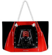 Ferrari F430 Engine Weekender Tote Bag