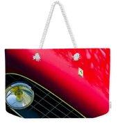 Ferrari Grille Emblem - Headlight Weekender Tote Bag