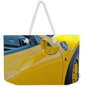 Ferrari Side Emblem Weekender Tote Bag