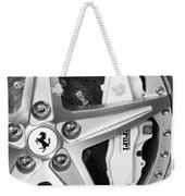 Ferrari Wheel Emblem Weekender Tote Bag