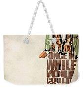 Ferris Bueller's Day Off Weekender Tote Bag by Ayse Deniz