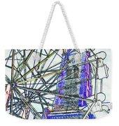 Ferris Wheel 2 Weekender Tote Bag