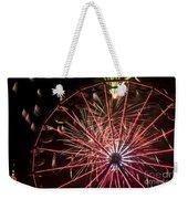 Ferris Wheel And Fireworks Weekender Tote Bag