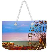 Ocean City New Jersey Ferris Wheel And Music Pier Weekender Tote Bag