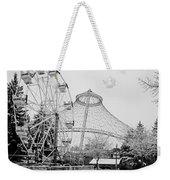 Ferris Wheel And R F P Pavilion - Spokane Washington Weekender Tote Bag