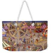 Ferris Wheel At The Carnival Weekender Tote Bag