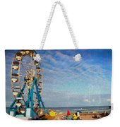 Ferris Wheel On A Gorgeous Day Weekender Tote Bag