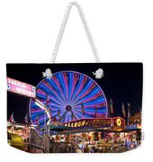 Ferris Wheel Rides And Games Weekender Tote Bag