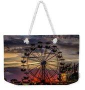 Ferris Wheel Sunset Weekender Tote Bag