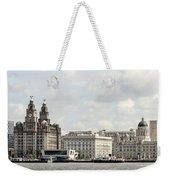 Ferry At Liverpool Weekender Tote Bag