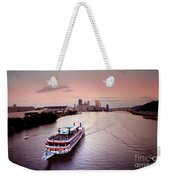 Ferry Boat At The Point In Pittsburgh Pa Weekender Tote Bag