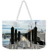 Ferry Dock Weekender Tote Bag