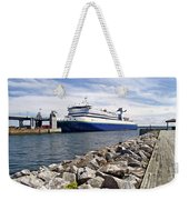 Ferry From North Sydney-ns To Argentia-nl Weekender Tote Bag