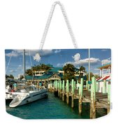 Ferry Station Paradise Island Weekender Tote Bag