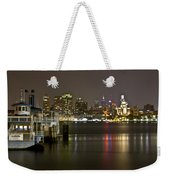 Ferry To The City Of Brotherly Love Weekender Tote Bag