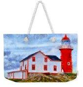 Ferryland Lighthouse In Newfoundland Weekender Tote Bag