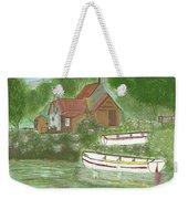Ferryman's Cottage Weekender Tote Bag
