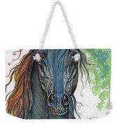 Ferryt Polish Black Arabian Horse Weekender Tote Bag