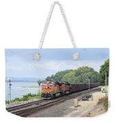 Ferryville Train Weekender Tote Bag