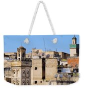 Fes Cityscape In Morocco Weekender Tote Bag