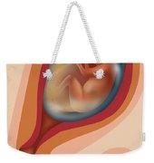 Fetal Growth - Month 4 Weekender Tote Bag