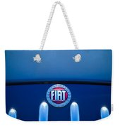 Fiat 750 Mm Zagato Panoramica Coupe Grille Emblem Weekender Tote Bag