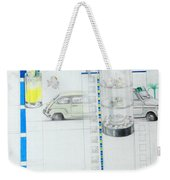Fiat Cinquecento Weekender Tote Bag