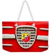 Fiat Emblem Weekender Tote Bag by Jill Reger
