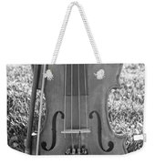 Fiddle And Bow Bw Weekender Tote Bag
