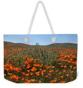 Fiddlenecks And Poppies Weekender Tote Bag