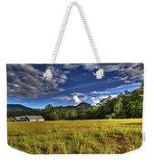 Field Bathed In Sunshine Weekender Tote Bag