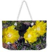 Field Cactus Weekender Tote Bag