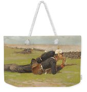 Field Drill For The Prussian Infantry  Weekender Tote Bag
