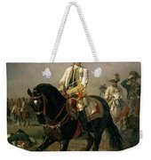 Field Marshal Baron Ernst Von Laudon 1717-90, General In The Seven Years War And War Of Bavarian Weekender Tote Bag