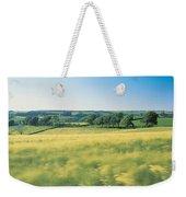 Field Near Barnstaple, North Devon Weekender Tote Bag