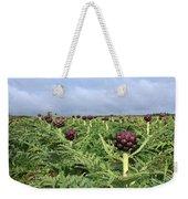 Field Of Artichokes Weekender Tote Bag