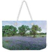 Field Of Bluebonnet Flowers, Texas, Usa Weekender Tote Bag