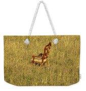 Field Of Chair Weekender Tote Bag