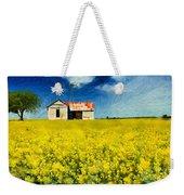 Field Of Dreams Weekender Tote Bag by Betty LaRue