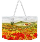 Field Of Dreams - Poppy Field Paintings Weekender Tote Bag