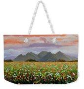 Field Of Flowers Weekender Tote Bag