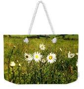 Field Of Flowers Weekender Tote Bag by Les Cunliffe