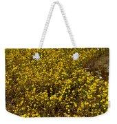 Field Of Goldfields In Park Sierra-ca Weekender Tote Bag