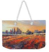 Field Of Light Oil Painting Weekender Tote Bag