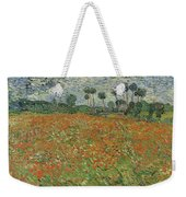 Field Of Poppies, Auvers-sur-oise, 1890 Weekender Tote Bag