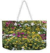 Field Of Pretty Flowers Weekender Tote Bag