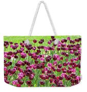 Field Of Purple Tulips 1 Weekender Tote Bag