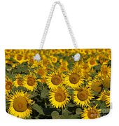 Field Of Sunflowers Weekender Tote Bag