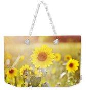 Field Of Sunshine Weekender Tote Bag