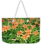 Field Of Tiger Lilies Weekender Tote Bag